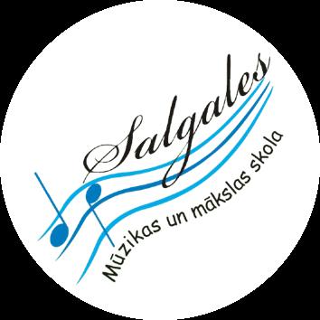 Salgales Mūzikas un mākslas skolas logo